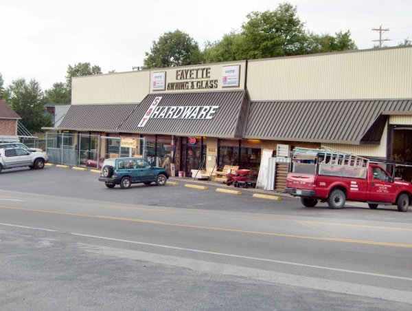 Fayette Awning and Glass - Do It Best Hardware Store - 1555 East Main Street, Oak Hill, WV